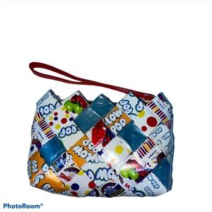 Blow Pop and Jolly Ranchers Woven Bag Zip Up